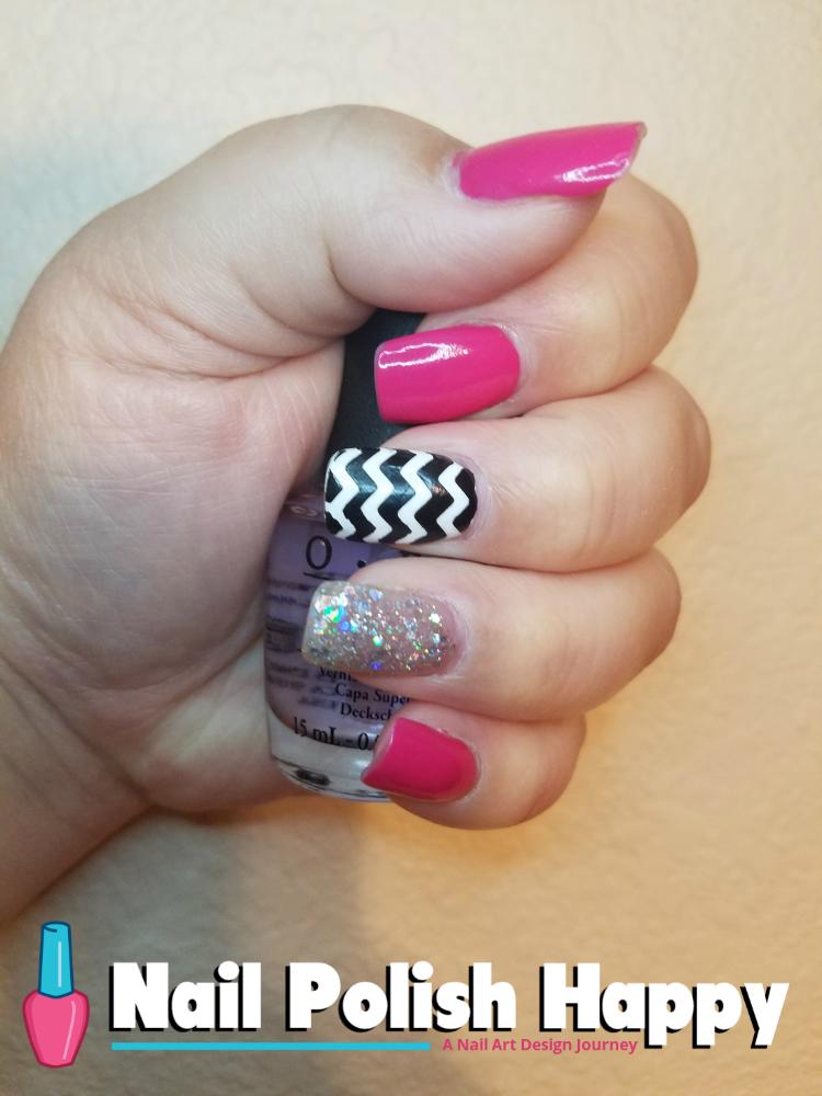 Pink Party Glam - Nail Polish Happy