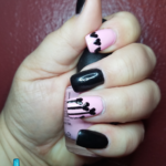 Nailed It: Black Hearted (for Valentine's Day)