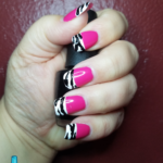 Hot Pink and Zebra Stripes